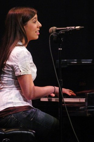 Annette Nagle Playing Piano