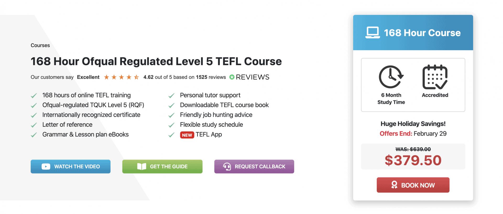 Premier Tefl 168 Hour Online Tefl Certification