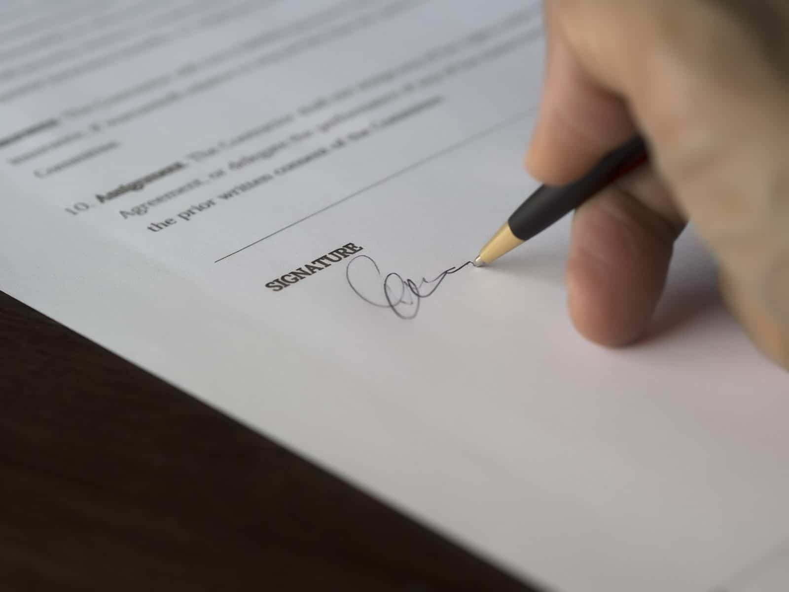 Signing A Tefl Teaching Contract