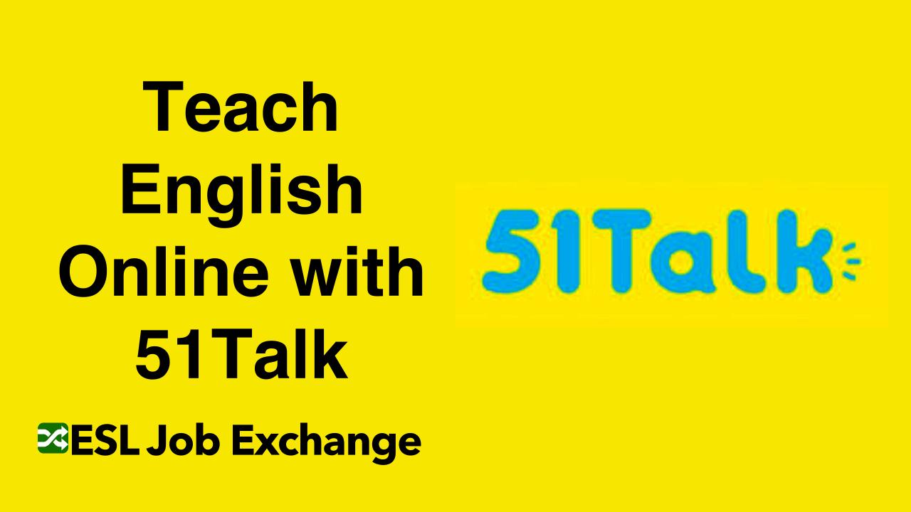 Teach English With 51talk