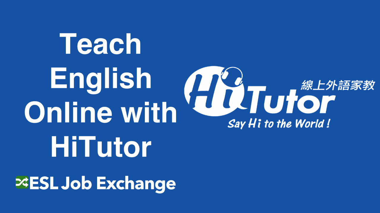 Teach English With Hitutor