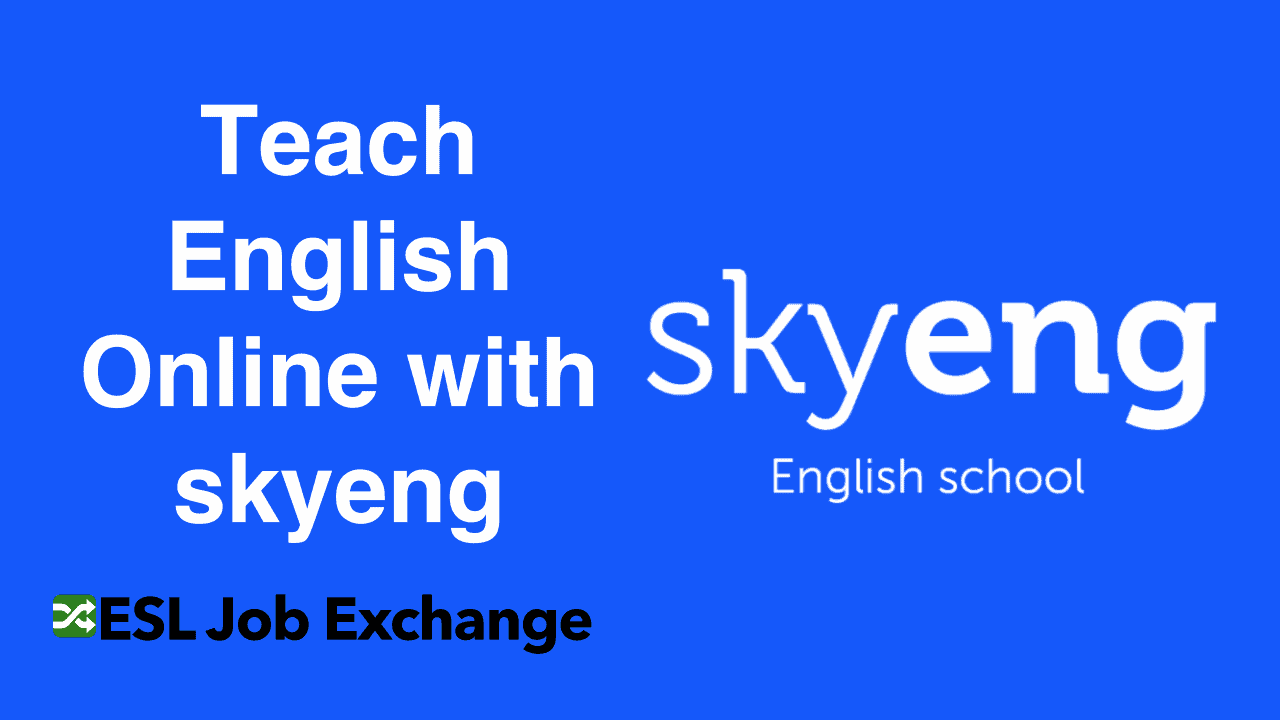 Teach English With Skyeng
