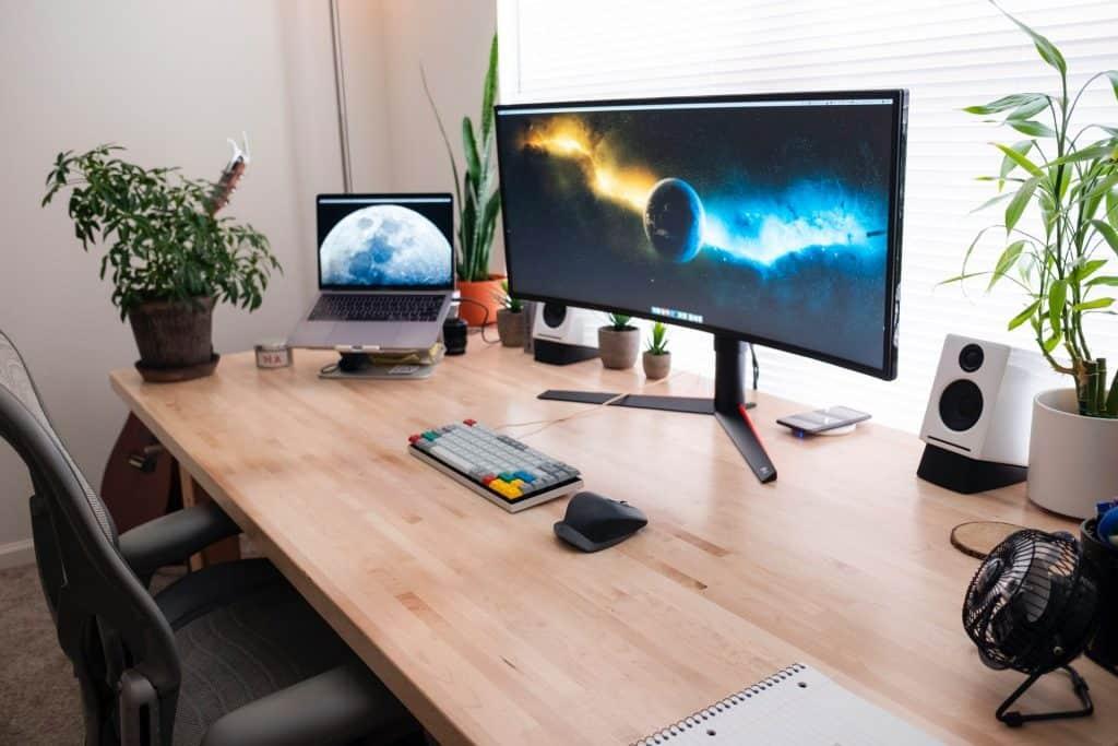 Dual Monitor Setup For Online Teaching