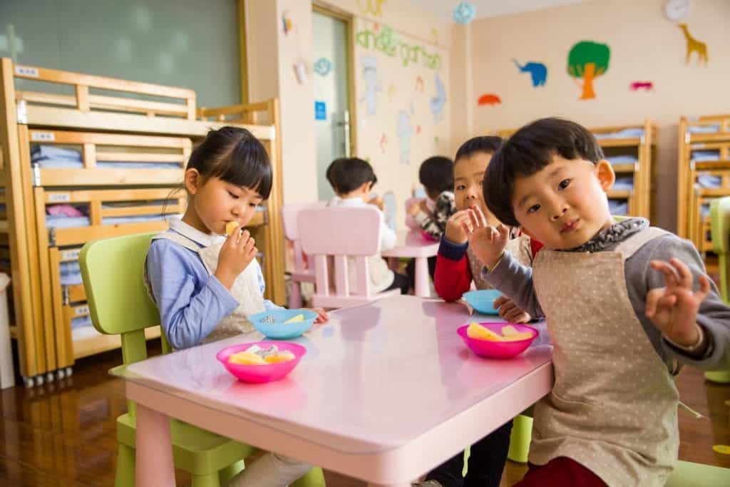 Toddlers ESL Age Group in China
