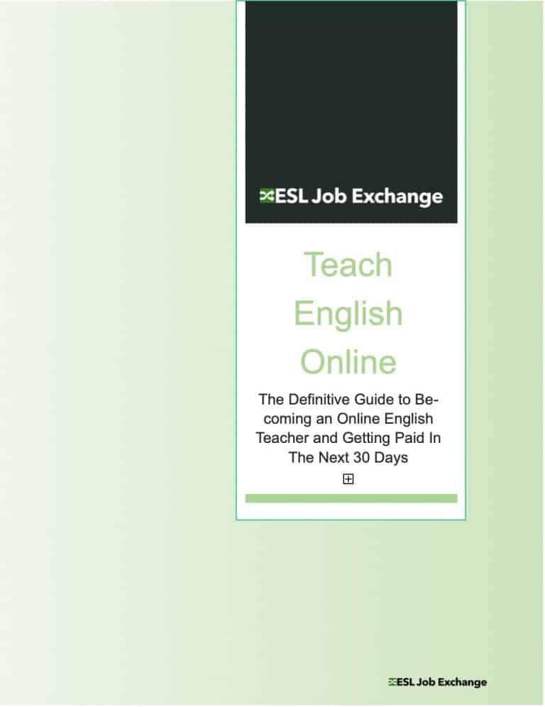 Teach English Online