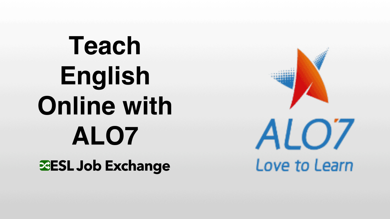 Teach English With Alo7