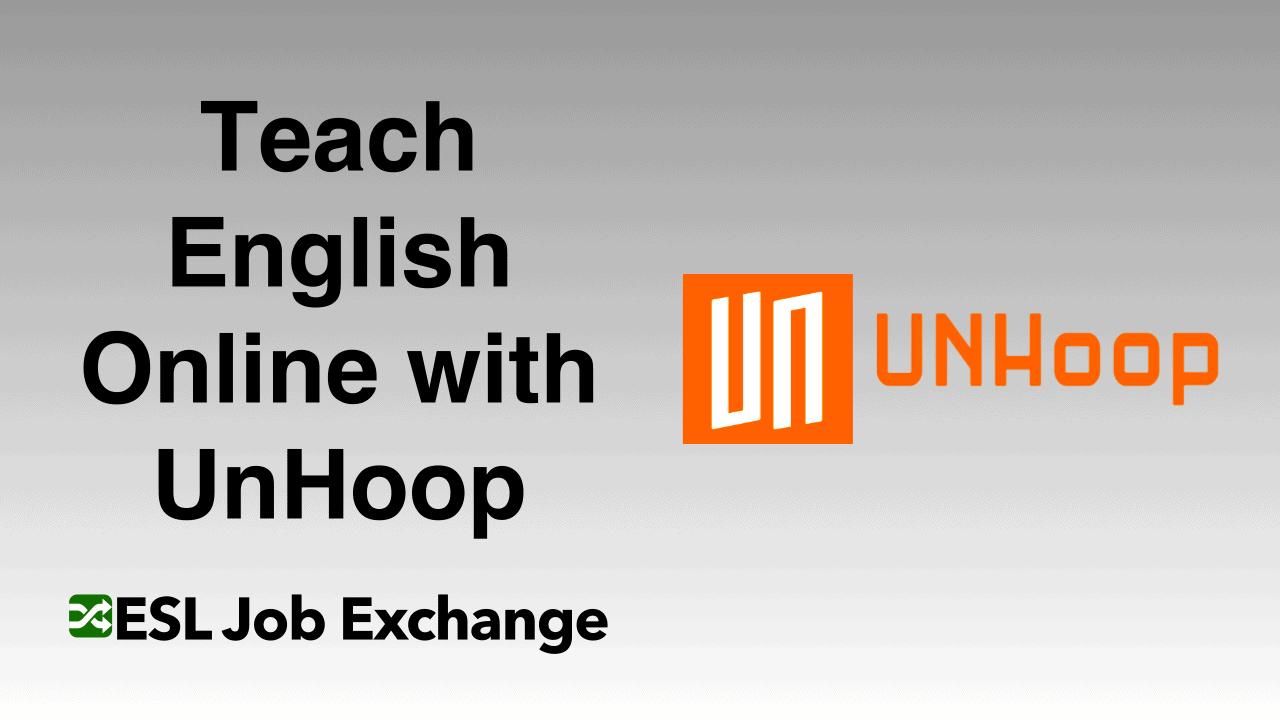 Teach English With Unhoop